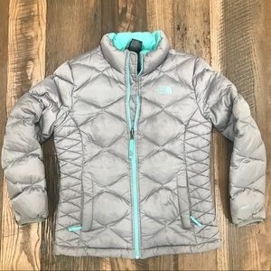 The North Face 550 Down Coat girl 10-12